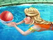 艾尔莎去游泳