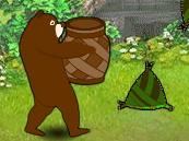 熊大接粽子