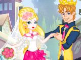 苹果公主婚礼装扮