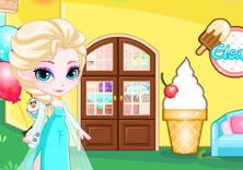 设计艾莎的冰淇淋小店