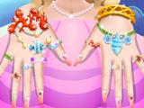 美人鱼公主美甲沙龙