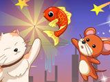 猫和老鼠爱吃鱼